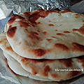 Naan au fromage (Cheese Naan)