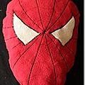 Tuto : le coussin / doudou spiderman