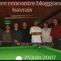 1ère rencontre des bloggueurs Havrais