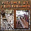 Patience et persévérance