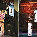 Étiquettes à bagages