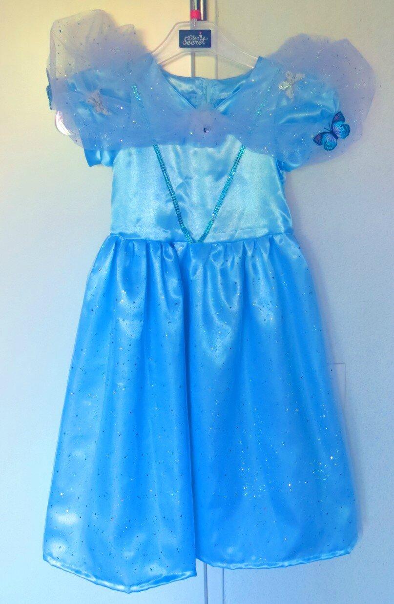 la robe de Cendrillon