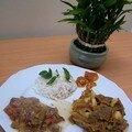 Curry de boeuf - pommes-de-terre du kerala