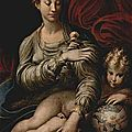 01-Parmigianino, la Madone à la rose