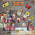 <b>Invitée</b> créative sur l'Antre Scrap / GDT for the blog L'Antre Scrap