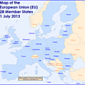 Video : <b>a</b> brief history of the European enlargement + Map + European Anthem (<b>Ode</b> to joy)