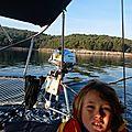Croisière d'hiver en Dalmatie du 11 au 18 février. 12 fév., de Vodice à Split. Visit of Krka River, St-<b>Nicholas</b> Fortress, Split