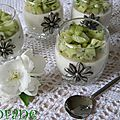 Pannacotta salée au yaourt poivré
