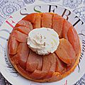 Tarte tatin exquise