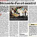 article journal La Montagne 04102011