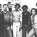 The jacksons au fiesta club de sheffield (angleterre) en février 1979
