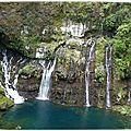 Cascade de Grand Galet ou cascade de Langevin