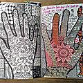 Saccage ce carnet - dessine le contour de tes mains (<b>wreck</b> <b>this</b> <b>journal</b> - trace your hand)