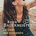 Erica bauermeister, le goût des souvenirs, lp, 288 pages