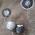 Plaid décoré de grannys ronds