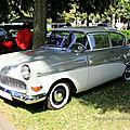 Opel rekord P1 de 1959 (34ème Internationales Oldtimer meeting de Baden-Baden) 01