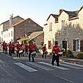 915 Accueille des chanteurs de Pargoire à La Cavalerie 26/09/09