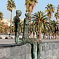 Barcelone - Barceloneta, art_6409