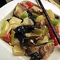 Sauté de porc au caramel à la chinoise