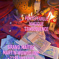 PORTEFEUILLE MAGIQUE CONSEQUENCE