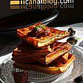 Gaufres chorizo basilic {foodiste challenge - 3ième edition}