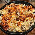 Riz afghan au poulet