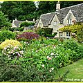 Bibury, village pittoresque des <b>Cotswolds</b>