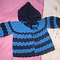 1 manteau bleu