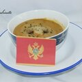 Čobanska krem supa od vrganja (velouté de champignons)