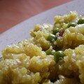 Quinoa safrané aux noix de cajou