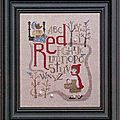 SAL Red - <b>Bent</b> <b>Creek</b> - Inscriptions