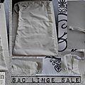Sac Linge Sale, lingerie, logo CB