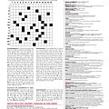 Consigne d'écriture <b>1415</b>-<b>22</b> du 24 mars 2015 : <b>Mots</b> <b>croisés</b> de Télérama