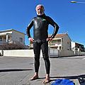 Une demi-heure de <b>nage</b> avec palmes à Marseillan-plage le 20 février 2020