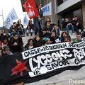 Rassemblement lycéen du 21 octobre, place bretagne