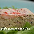 Terrine saumon et <b>crevettes</b>