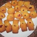 Petites bouchées à la pâte de pistache et aux framboises