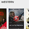 L'appli <b>Android</b> PlayVOD vous propose des films western !