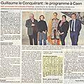 Caen 2016: l'année guillaume... enfin!