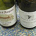 Dîner-dégustation entre amateurs: vins du <b>Rhône</b> (4)