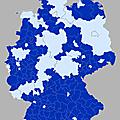 Les législatives allemandes en cartes