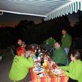 Barbecue d'accueil...psssssssss ils ont rien mangé!