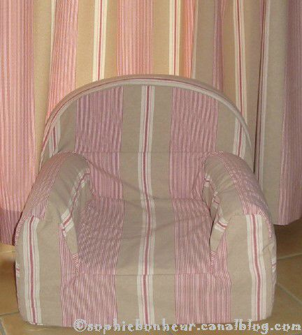 couture fauteuil fini