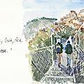 Carnets de voyage et peintures de Chinou.