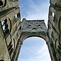 Abbaye de jumièges, la plus belle ruine de france