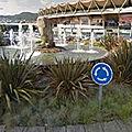 Rond-point à Vigo (Espagne)