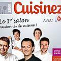 Salon Cuisinez avec M6