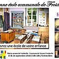 P'tit musée de l'école de Froideville