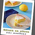 Gâteau au citron très moelleux