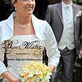 Parure de bijoux mariage
